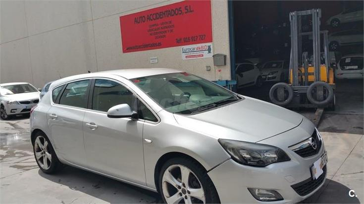 opel astra 1 7 cdti 125 cv sport diesel gris plata del 2010 con 288356km en madrid 31835227. Black Bedroom Furniture Sets. Home Design Ideas