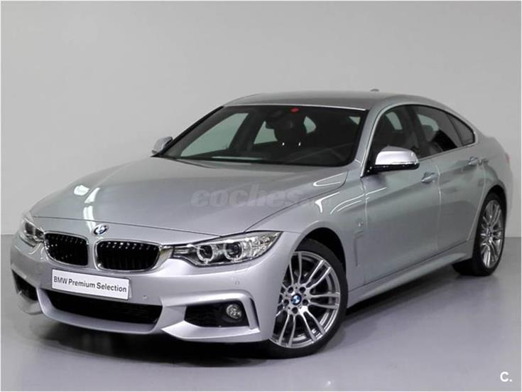 bmw serie 4 418d gran coupe diesel gris plata del 2016 con 4000km en valencia 31838914. Black Bedroom Furniture Sets. Home Design Ideas