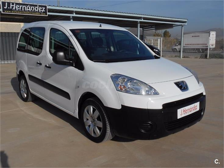 peugeot partner tepee access 1 6 hdi 75cv diesel blanco del 2011 con 83000km en murcia 31843119. Black Bedroom Furniture Sets. Home Design Ideas