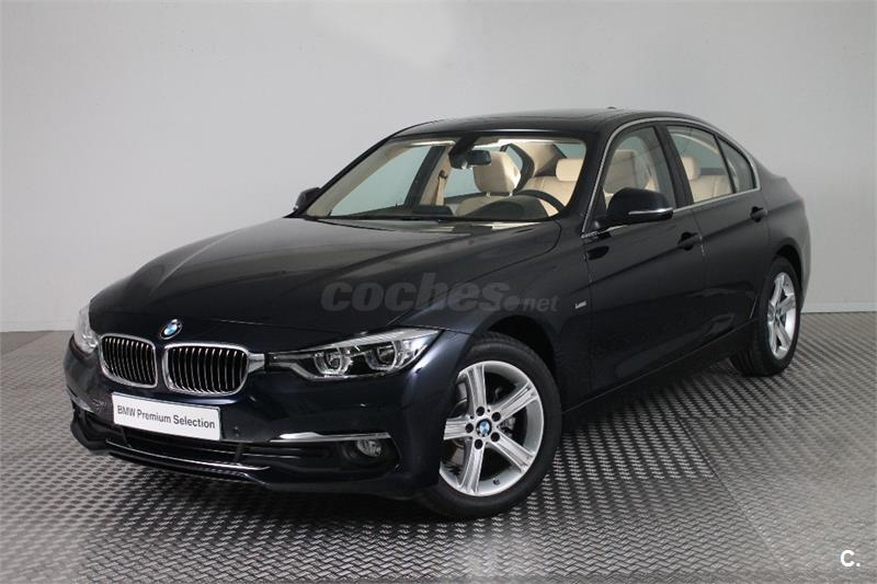 bmw serie 3 318d diesel azul imperialblau del 2016 con 4000km en zaragoza 31847495. Black Bedroom Furniture Sets. Home Design Ideas