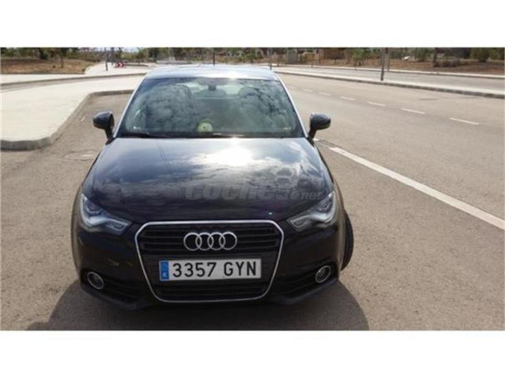 audi a1 1 4 tfsi 122 stronic 119g co2 attraction gasolina negro del 2010 con 78500km en. Black Bedroom Furniture Sets. Home Design Ideas