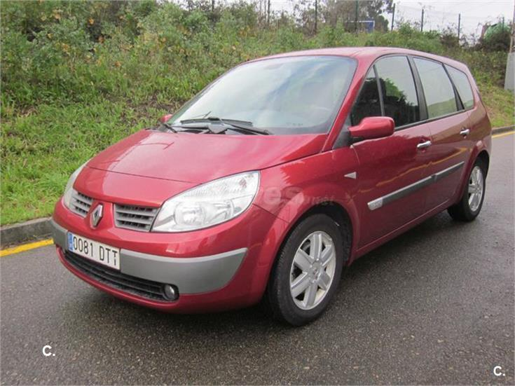 renault grand scenic confort expression eu4 diesel granate del 2005 con 130000km en. Black Bedroom Furniture Sets. Home Design Ideas