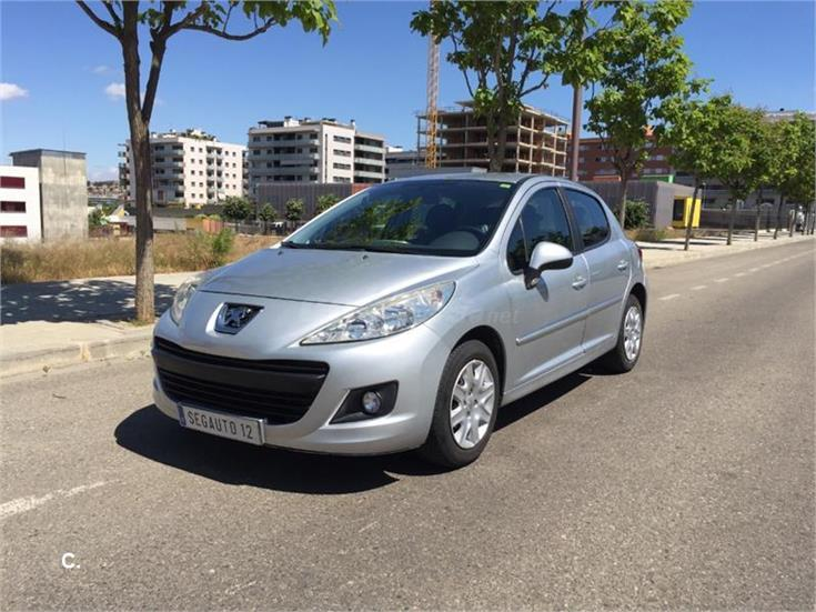peugeot 207 active 1 4 hdi 70 fap diesel gris plata del 2011 con 88000km en lleida 31864501. Black Bedroom Furniture Sets. Home Design Ideas