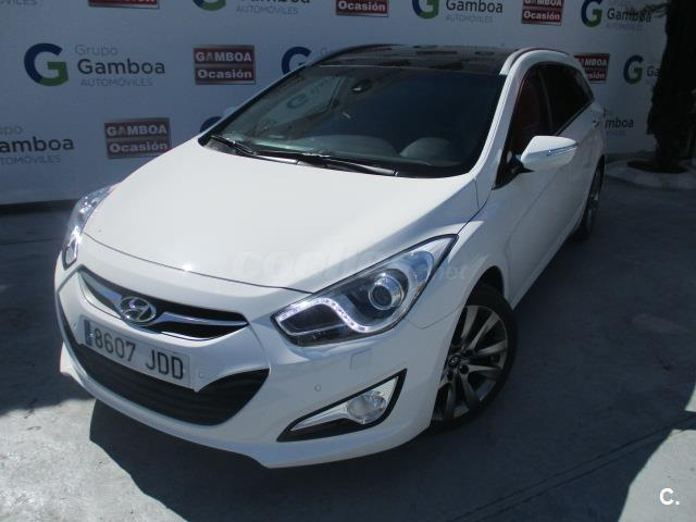 hyundai i40 cw 1 7 crdi 136cv style auto diesel blanco del 2015 con 20050km en madrid 31865510. Black Bedroom Furniture Sets. Home Design Ideas