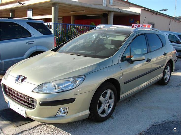 peugeot 407 sw st sport 2 0 hdi 136 diesel verde del 2005 con 90986km en murcia 31866906. Black Bedroom Furniture Sets. Home Design Ideas