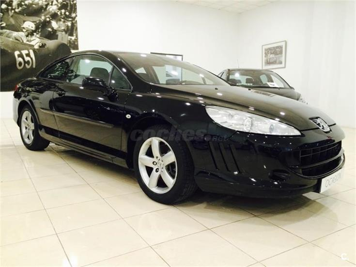 peugeot 407 coupe 2 0 hdi 136cv fap diesel negro del 2009 con 225586km en valencia 31908823. Black Bedroom Furniture Sets. Home Design Ideas