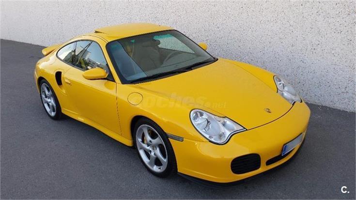 Porsche 911 turbo gasolina amarillo del 2001 con 112000km - Centro porsche alicante ...