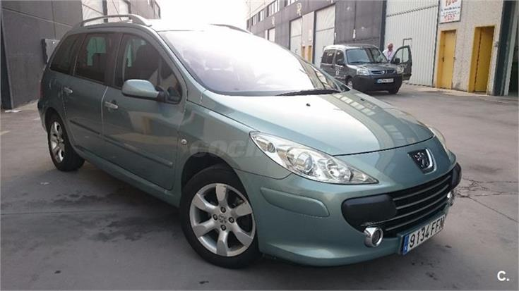 peugeot 307 sw 1 6 hdi 110 fap dsign diesel verde del 2007 con 138000km en zaragoza 31916886. Black Bedroom Furniture Sets. Home Design Ideas