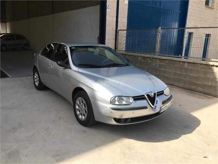 alfa romeo 156 1 6 ts 16v progression gasolina gris plata del 2001 con 145000km en tarragona. Black Bedroom Furniture Sets. Home Design Ideas