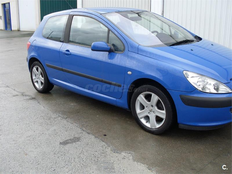 peugeot 307 2 0 hdi 90 xr diesel azul del 2002 con 260983km en lugo 31920254. Black Bedroom Furniture Sets. Home Design Ideas
