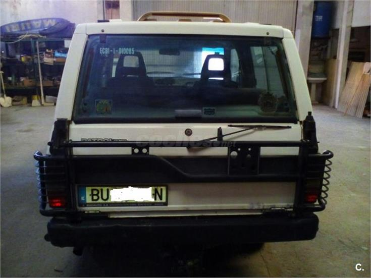 Nissan trade trade 2 0 chasis cabina diesel blanco del for 20 x 32 cabina con soppalco