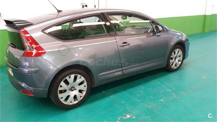 citroen c4 2 0 hdi 138 vts diesel azul claro del 2007 con 209000km en vila 31954518. Black Bedroom Furniture Sets. Home Design Ideas