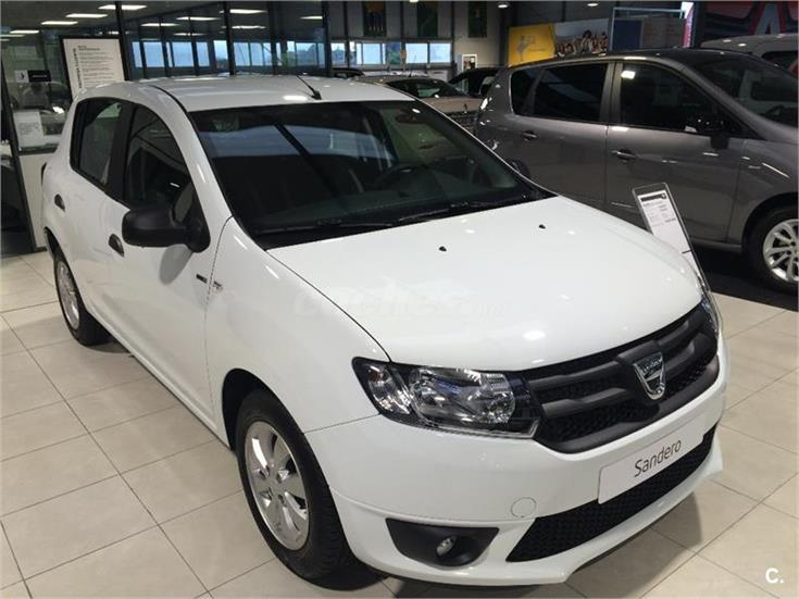 dacia sandero sl eficacia 1 2 75cv gasolina blanco del 2016 con 5km en asturias 31967554. Black Bedroom Furniture Sets. Home Design Ideas