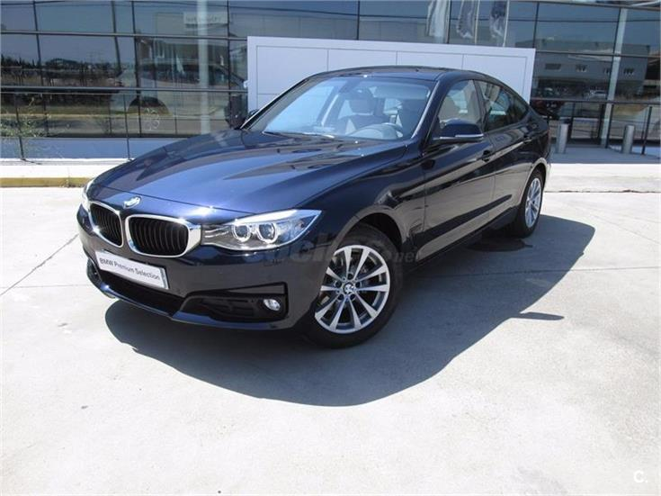 bmw serie 3 318d gran turismo diesel azul del 2016 con 6000km en ciudad real 31970556. Black Bedroom Furniture Sets. Home Design Ideas
