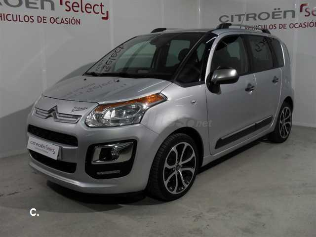 citroen c3 picasso bluehdi 100 feel edition diesel gris plata del 2015 con 15539km en valencia. Black Bedroom Furniture Sets. Home Design Ideas