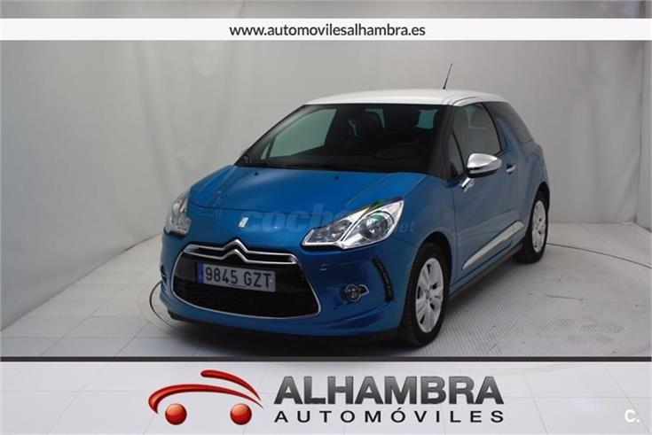 citroen ds3 vti 120 gasolina azul del 2010 con 39798km en madrid 31970804. Black Bedroom Furniture Sets. Home Design Ideas