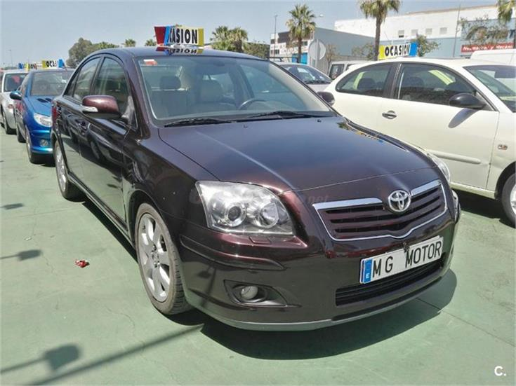 toyota avensis 2 2 d4d executive diesel violeta lila del 2007 con 252000km en huelva 31970918. Black Bedroom Furniture Sets. Home Design Ideas