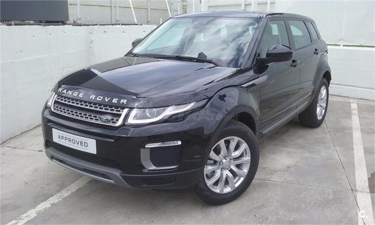 land rover range rover evoque 4x4 td4 diesel 150cv 4x4 se diesel de color negro santorini. Black Bedroom Furniture Sets. Home Design Ideas