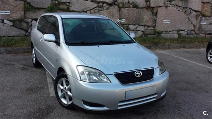 toyota corolla 2 0 d4d linea sol 116cv diesel gris plata del 2003 con 214000km en pontevedra. Black Bedroom Furniture Sets. Home Design Ideas
