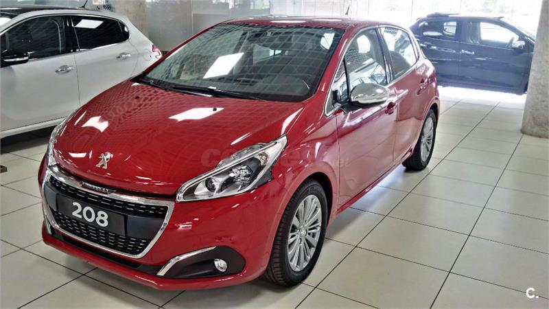 peugeot 208 5p style puretech 82 gasolina rojo met del 2016 con 12093km en madrid 32007485. Black Bedroom Furniture Sets. Home Design Ideas