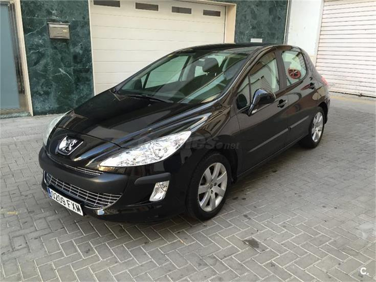 peugeot 308 confort 1 6 vti 120 gasolina negro del 2007 con 79000km en granada 32017385. Black Bedroom Furniture Sets. Home Design Ideas