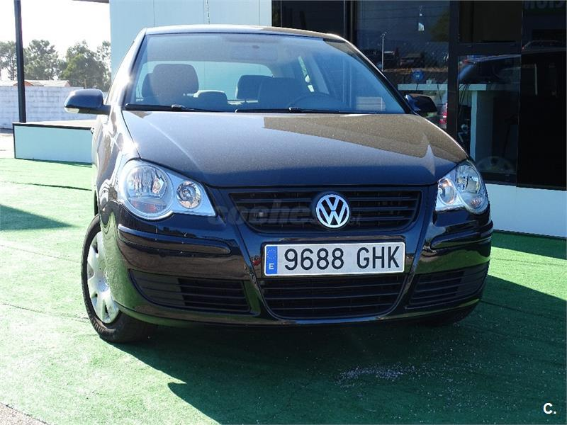 volkswagen polo 1 2 united 60cv gasolina negro del 2008 con 85000km en pontevedra 32019086. Black Bedroom Furniture Sets. Home Design Ideas