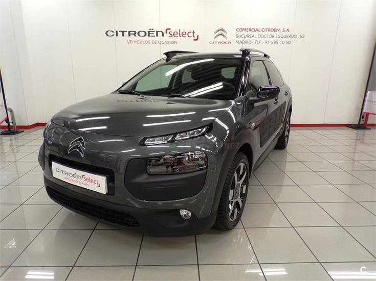 citroen c4 cactus bluehdi 100 feel edition diesel gris plata shark del 2016 con 1km en. Black Bedroom Furniture Sets. Home Design Ideas