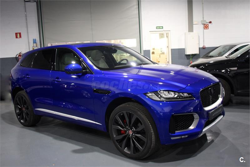 Jaguar f pace 4x4 tdv6 awd aut first edition diesel - Concesionario jaguar madrid ...