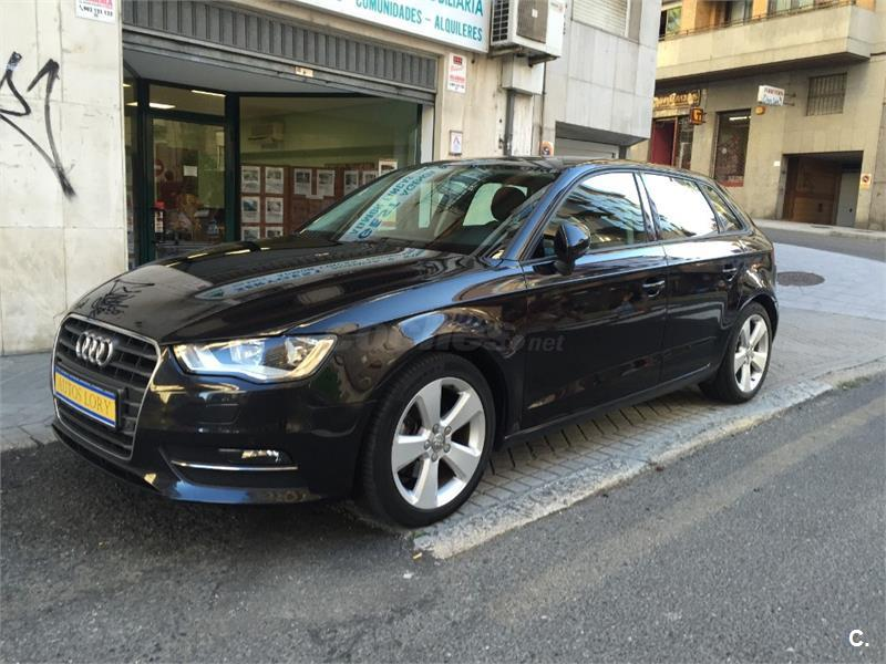 audi a3 sportback 2 0 tdi 150 s tronic ambition diesel negro del 2013 con 125000km en orense. Black Bedroom Furniture Sets. Home Design Ideas