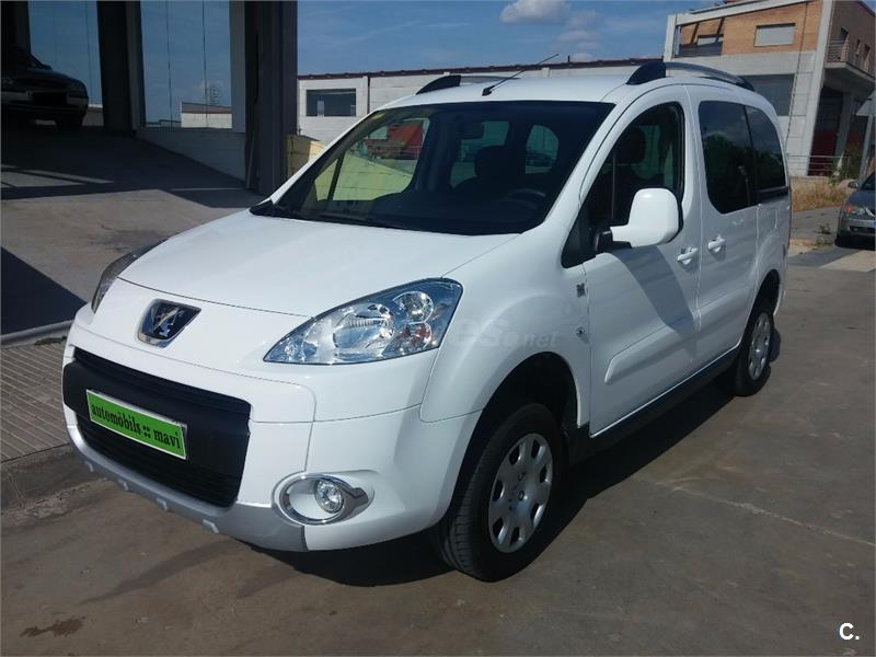 peugeot partner tepee 4x4 dangel extreme 1 6 hdi 92cv diesel blanco del 2012 con 85000km en. Black Bedroom Furniture Sets. Home Design Ideas