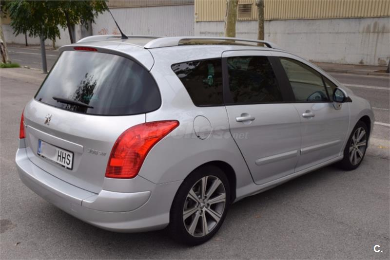 peugeot 308 sw active 2 0 hdi 150 fap diesel gris plata del 2011 con 48000km en barcelona 32108129. Black Bedroom Furniture Sets. Home Design Ideas
