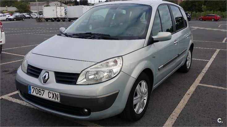 renault scenic confort expression diesel gris plata del 2004 con 112000km en vizcaya. Black Bedroom Furniture Sets. Home Design Ideas