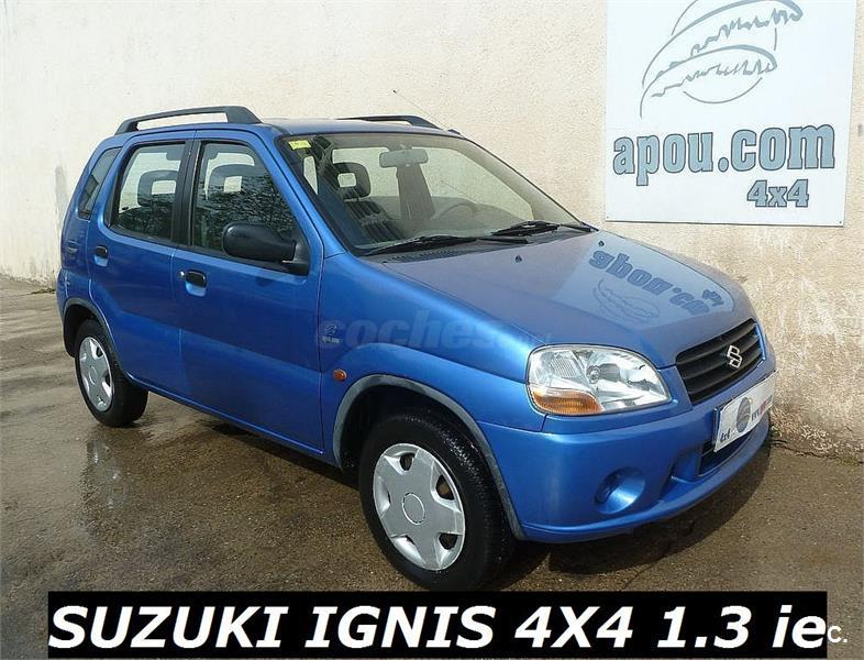 suzuki ignis 1 3 gl 4x4 gasolina azul del 2002 con 135000km en barcelona 32145039. Black Bedroom Furniture Sets. Home Design Ideas