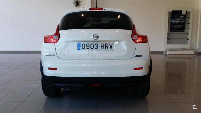 nissan juke 4x4 1 5 dci tekna sport 4x2 diesel de color blanco del a o 2013 con 129860km en. Black Bedroom Furniture Sets. Home Design Ideas