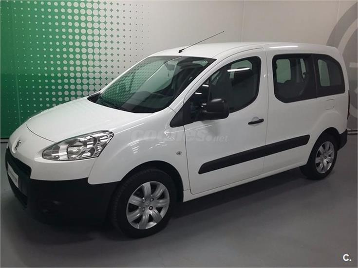 peugeot partner tepee access 1 6 hdi 75cv diesel blanco del 2013 con 119025km en a coru a 32154140. Black Bedroom Furniture Sets. Home Design Ideas