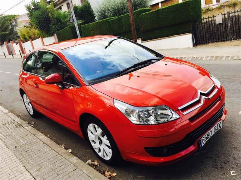 citroen c4 1 6 hdi 110 vts plus cmp diesel rojo del 2009 con 93000km en barcelona 32157275. Black Bedroom Furniture Sets. Home Design Ideas