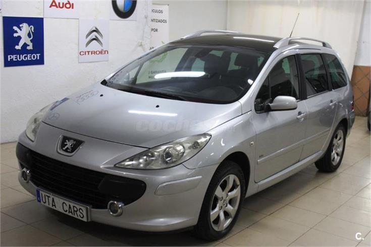 peugeot 307 sw 2 0 hdi 136 pack diesel gris plata del 2006 con 130000km en madrid 32166943. Black Bedroom Furniture Sets. Home Design Ideas