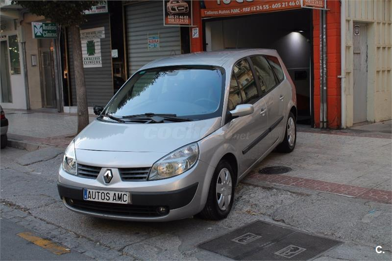 renault grand scenic confort expression diesel gris plata del 2005 con 271000km en. Black Bedroom Furniture Sets. Home Design Ideas
