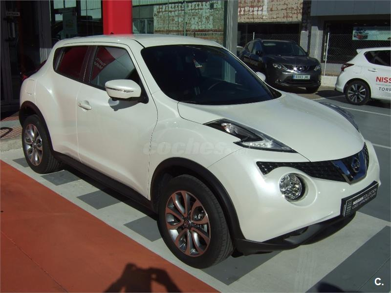 nissan juke 4x4 1 5 dci tekna 4x2 diesel de color blanco. Black Bedroom Furniture Sets. Home Design Ideas