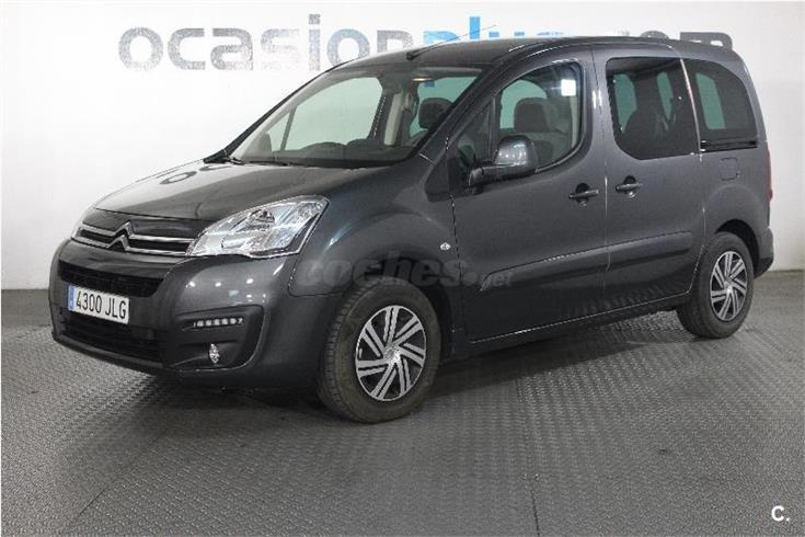 citroen berlingo multispace feel bluehdi 100 diesel gris plata del 2016 con 10000km en madrid. Black Bedroom Furniture Sets. Home Design Ideas
