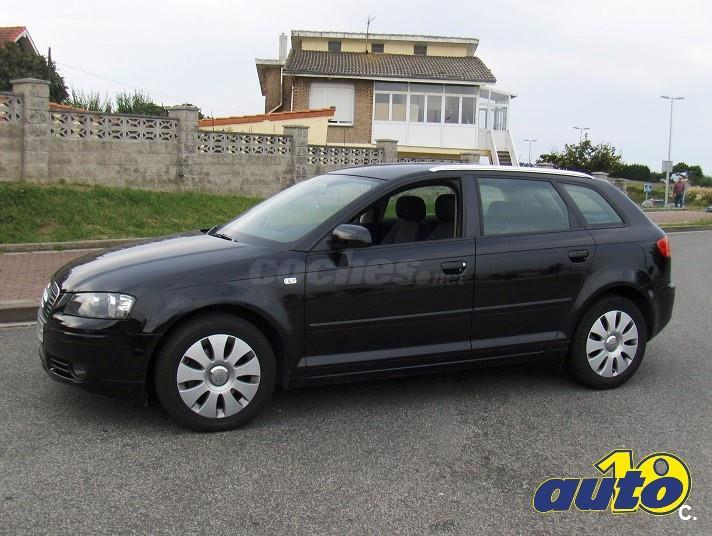 Audi a3 sportback 2 0 tdi 140cv dpf ambition diesel negro for Dimensioni audi a3 sportback 2008