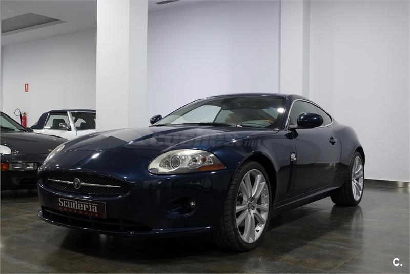 jaguar serie xk xk8 4 2 coupe gasolina azul del 2007 con 147000km en alicante 32214823. Black Bedroom Furniture Sets. Home Design Ideas