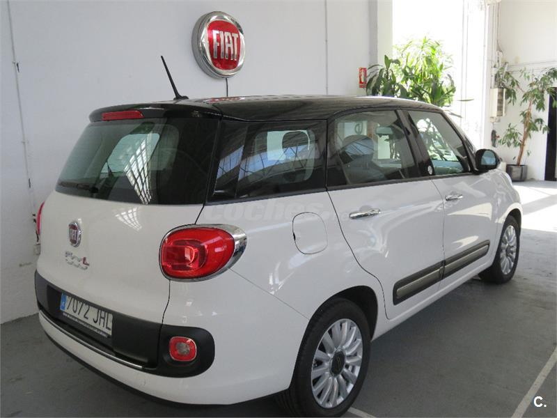 fiat 500l living lounge 1 6 16v mtijet ii 105 ss diesel blanco del 2015 con 22725km en madrid. Black Bedroom Furniture Sets. Home Design Ideas