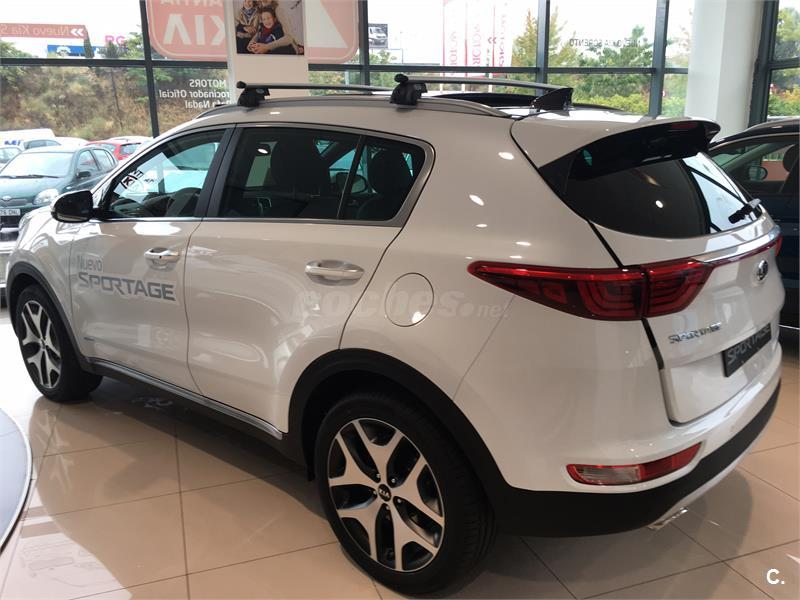 kia sportage 4x4 2 0 crdi vgt 185cv gt line auto 4x4 diesel de km0 de color blanco en madrid. Black Bedroom Furniture Sets. Home Design Ideas