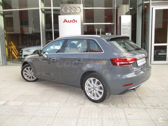 audi a3 design edition 1 6 tdi 110cv sportback diesel gris. Black Bedroom Furniture Sets. Home Design Ideas