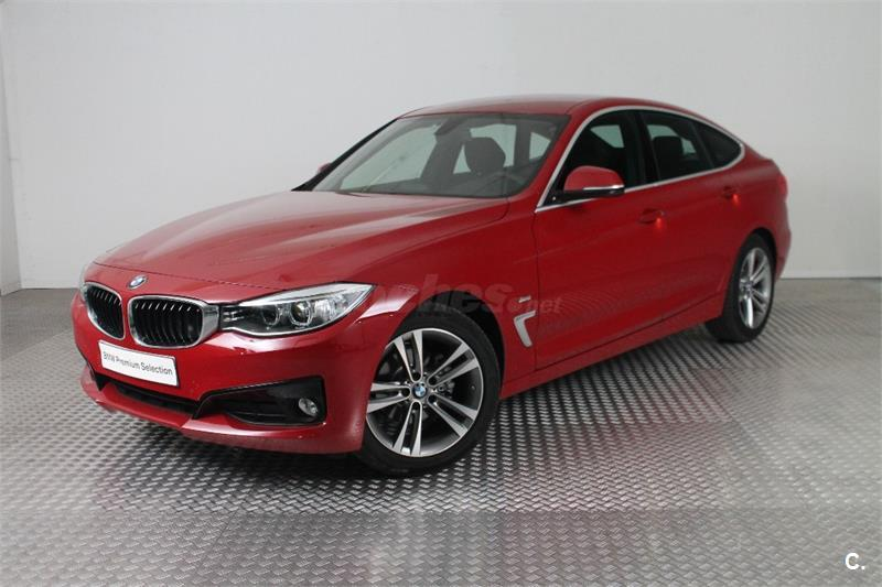 bmw serie 3 318d gran turismo diesel rojo melbourne rot del 2016 con 12200km en zaragoza 32297310. Black Bedroom Furniture Sets. Home Design Ideas