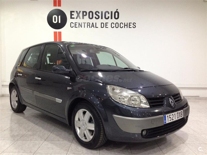 renault scenic confort expression eu4 diesel gris plata del 2006 con 189000km en. Black Bedroom Furniture Sets. Home Design Ideas