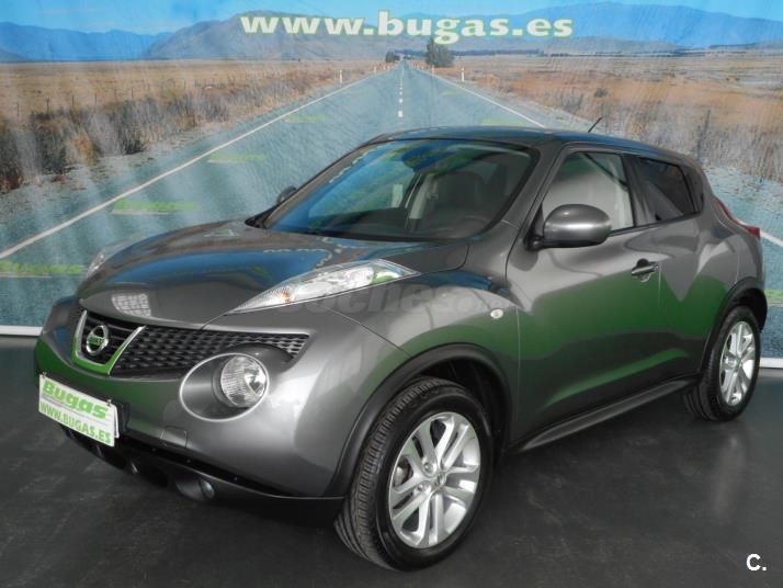 nissan juke 4x4 diesel de color gris plata gris oscuro. Black Bedroom Furniture Sets. Home Design Ideas