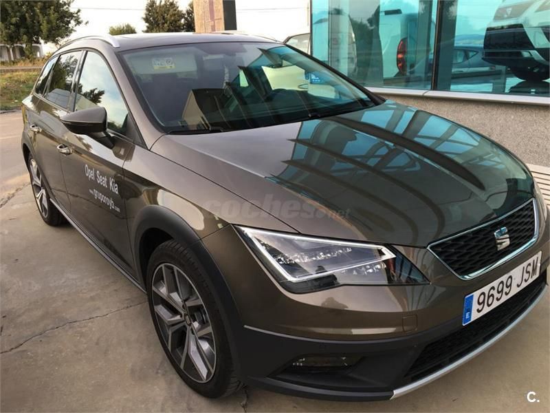seat leon st 2 0 tdi 150cv 4drive stsp xperience diesel marr n negro del 2016 con 16200km en. Black Bedroom Furniture Sets. Home Design Ideas