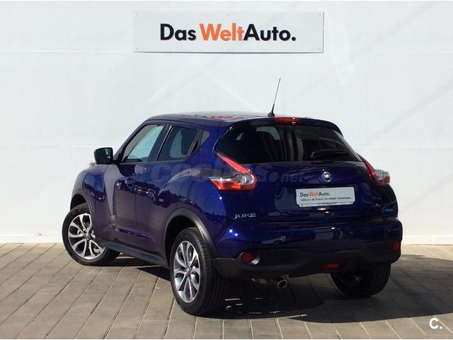 nissan juke 4x4 1 5 dci tekna premium 4x2 diesel de color azul azul ultramar del a o 2015 con. Black Bedroom Furniture Sets. Home Design Ideas